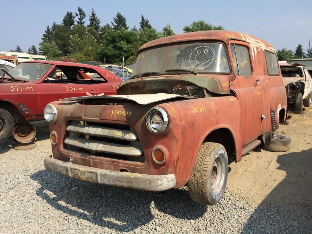 1955 Dodge Panel Truck