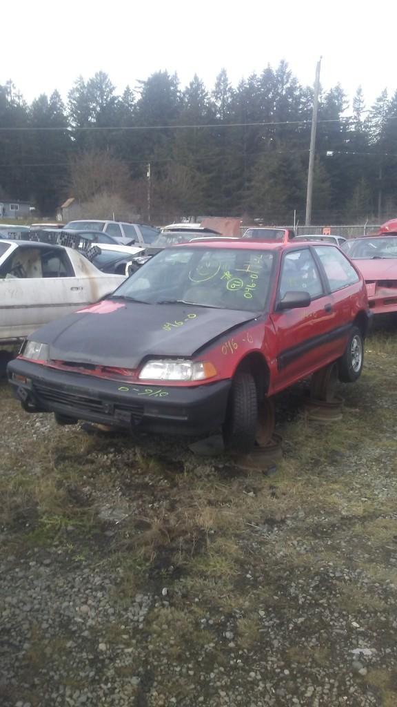 1991 Honda Civic Hatch
