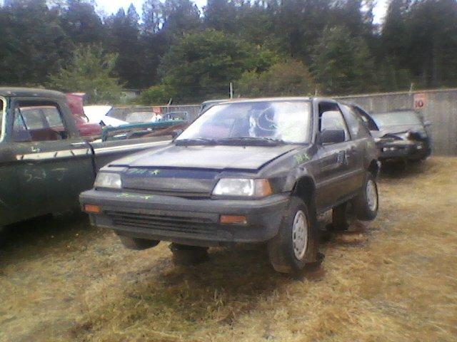 1987 Honda Civic Hatch