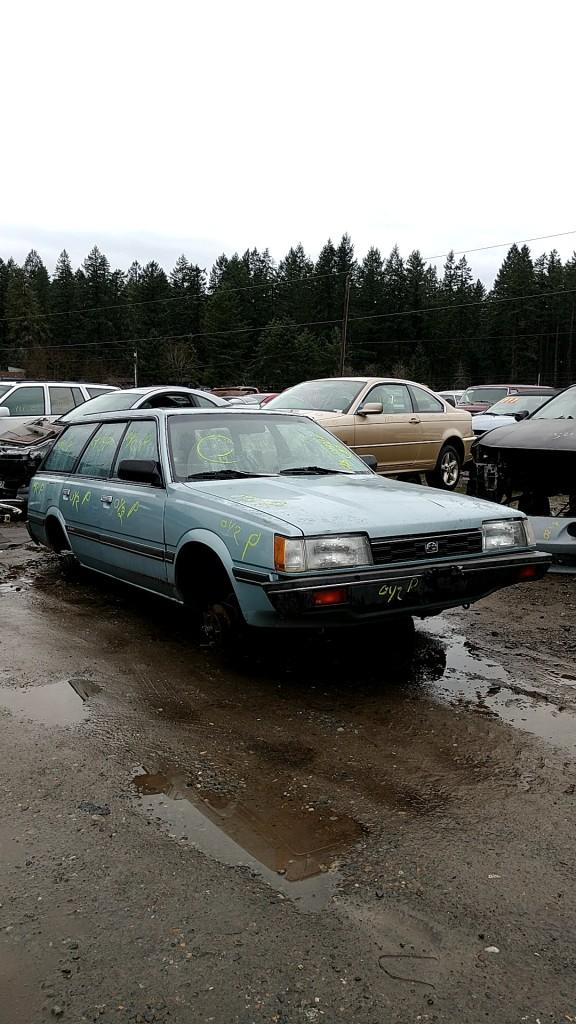 1987 Subaru GL Wagon