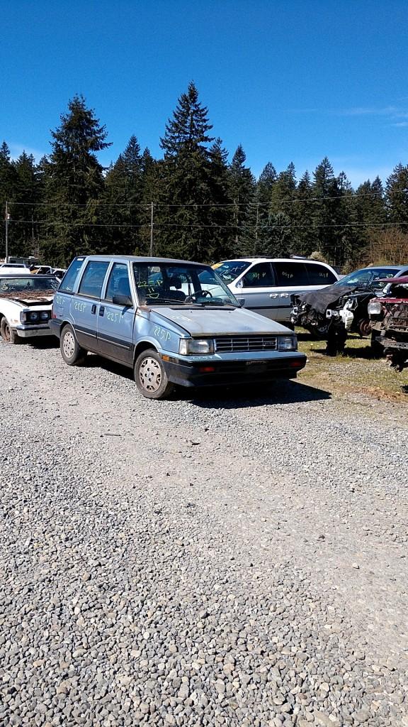 1986 Nissan Stanza SW