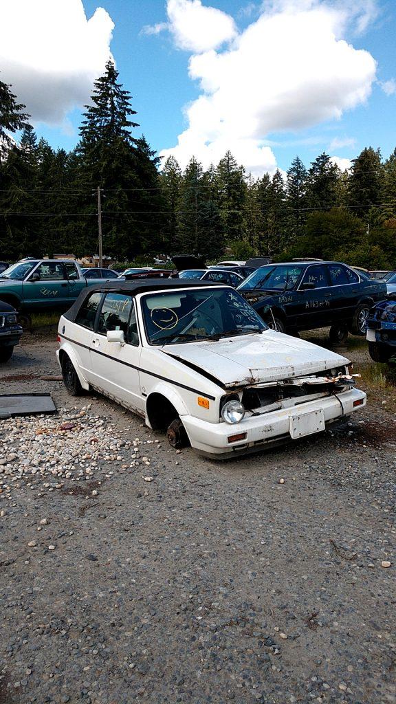 1992 VW Cariolet