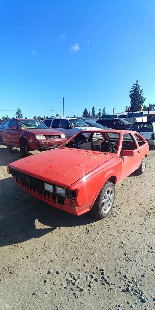 1984 VW Scirocco
