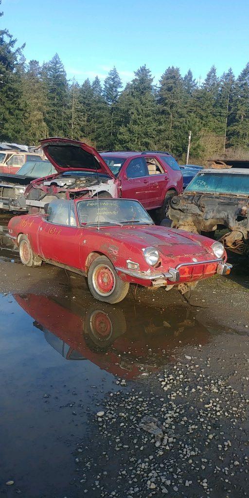 1972 Fiat Spider 850 Sport